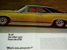 1966 PONTIAC GTO ORIGINAL 2-PG AD-400/V8 engine/block/heads/intake manifold/1967
