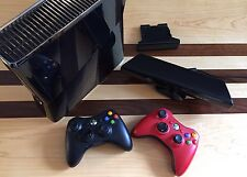 Xbox 360 S 250GB Glossy Black Console Kinect, Two Controllers, Halo, Lego Batman