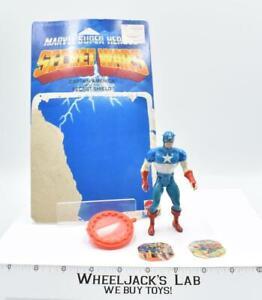 Captain America Secret Wars Marvel Super Heroes Mattel 1984 Action Figure