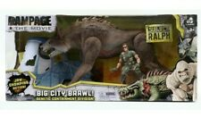Rampage The Rock Movie Toy Figure Big City Brawl Wolf Monster Ralph NEW!