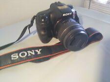 Sony Alpha SLT-A65V 24.3MP Digital SLR Camera - Black