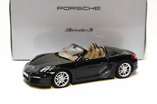 1:18 Minichamps Porsche Boxster S basalto BLACK spacciatori NEW in Premium-MODELCARS