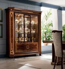 Bookcase Display Cabinet Dresser Sideboard Baroque Rococo Art Nouveau Design