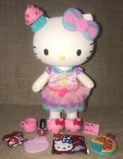 "Sanrio Hello Kitty Poseable Doll Princess 13"" Doll w/ accesories"