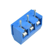 10PCS Screw Terminal Block Connector 3Pins 5mm Pitch KF301-3P 5.08 300V/16A