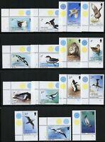 Südgeorgien 1987 Freimarken Vögel Albatros Pinguin Kormoran 150-164 MNH / 134