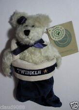 """BOYDS PLUSH COLLECTION """"ANDREI BERRIMAN BEAR IN TWINKLE BAG""""  91730006 NEW"""