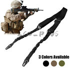 Tactical 2 Point Rifle Gun Sling Strap Adjustable Hunting Shotgun Belts Outdoor