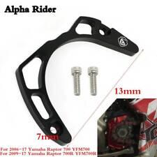 For Yamaha Raptor 700 YFM700/R Case Saver Billet Aluminum Black Protect Engine