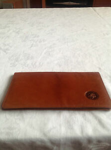 PURSEPLUS credit card holder,brown,leather Exc. con! L@@K!!