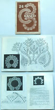 24 COLLARS knitted, crocheted, embroidered ESTONIA 1992