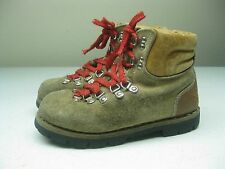 BROWN DISTRESSED COLORADO MADE IN ITALY HIKING MOUNTAIN LACE UP BOOTS Size 3.5D