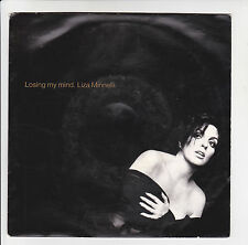 "LIZA MINNELLI Vinyl 45T 7"" LOSING MY MIND -TONIGHT IS FOREVER -EPIC 144 F Reduit"