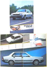 Renault 18 Mark 2 Saloon 1984-85 French Market Brochure