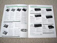 BIC turntable/cassette/speaker/antenna brochure, #1