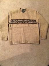 ABERCROMBIE & FITCH SWEATER X-LARGE THICK WOOL NICE!!!
