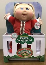 Cabbage Patch Kids Lil' Dancer Holiday Pajama Dance Party Jingle Bells NEW CPK
