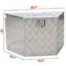 Aluminum Trailer Truck Pickup Underbody Underbed Tongue Tool Box Storage ToolBox