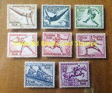 EBS Germany 1936 Berlin Summer Olympics set - Michel 609-616 MNG