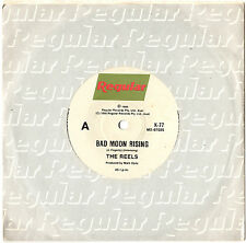 """THE REELS - BAD MOON RISING / WORLDS END - 7"""" 45 VINYL RECORD 1986"""
