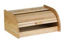 Premier Housewares 1103678 Portapane con Base bianca in legno di gomma