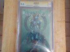ASCENSION #5! CGC 9..4 FINCH SIG!