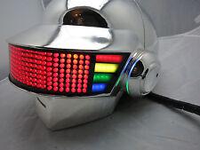 Daft Punk Helmet Thomas Discovery Era, with LEDs, Chromed, Halloween Costume