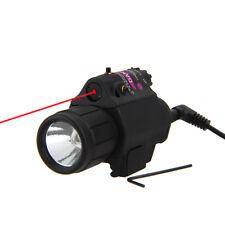650nm Red /532nm Green Dot Laser sight Combo w/ CREE LED Flashlight Light torch