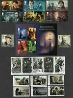 Sherlock Holmes Collection-Great Britain -2020 set + m/s plus(see below )
