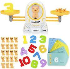Math Educational Toys for 3 4 5 6 Year Old, Boys & Girls Dog Balance Game