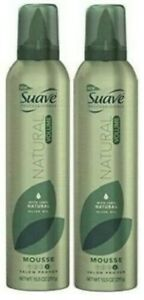 (Pack of 2) SUAVE PROFESSIONALS MOUSSE NATURAL VOLUME 10.5 OZ