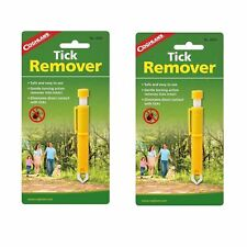 Coghlan's Tick Remover First Aid Kit Twister Tweezer for People & Pets (2-Pack)