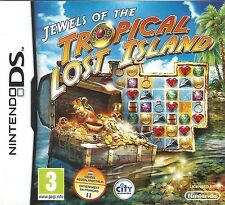 JEWELS OF THE LOST TROPICAL ISLAND for Nintendo DS NDS