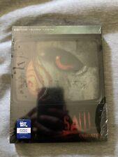 Saw 4K (Ultra HD / Blu-ray / Digital) Best Buy SteelBook