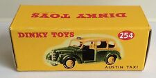 Dinky 254 Austin Taxi Empty Repro Box Only