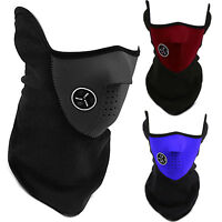 Bike Motorcycle Thermal Face Neck Mask Cover Neoprene Sport Balaclava Cycling