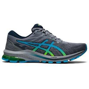 ASICS 1011B001 025 GT 1000 10 Sheet Rock Hazard Green Men's Running Shoes