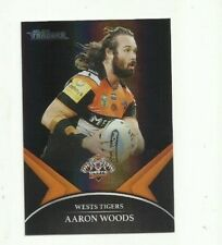 2016 NRL TRADERS BLACK PARALLEL WESTS TIGERS AARON WOODS PS080 FREE POST