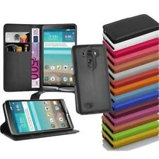Wallet Case Cover BOOK Style for LG Protection Etui Kick Stand Flip