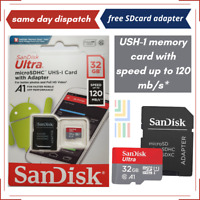 SanDisk 32GB Micro SD Card Class 10 Memory Card for HTC, HTC ONE Mobile Phone