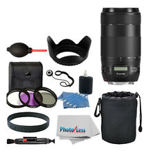 Canon EF 70-300mm f/4-5.6 IS II USM Lens For Canon DSLR Cameras + 67mm Filters