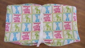 Changing Pad Cover - Zoo Animals