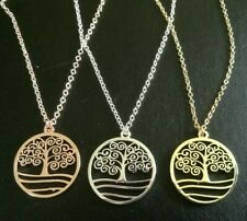 Tree of Life Pendant Necklace MOTHERS DAY MUM FAMILY TREE BIRTHDAY 522
