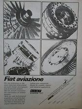 2/1974 PUB FIAT AVIAZIONE AVIATION HELICOPTER TURBINE COMPRESSOR BLADE AD