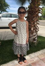 Baby Gap Girls Floral tiered spaghetti Dress Size 5T Years $34.95