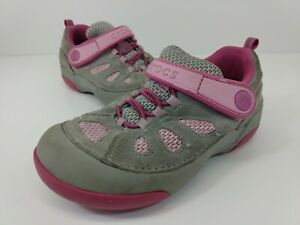 Crocs Girls' Dawson EO Shoes Shoe - Size C11- 14498 Toddlers Pink Gray
