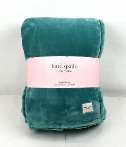 Kate Spade New York Plush Throw/Blanket Size Queen 98 in x 92 in