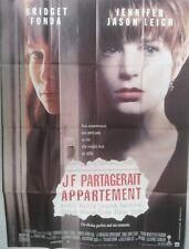 Affiche J F PARTAGERAIT APPARTEMENT. 120 x 160 cms. Bridget FONDA, J Jason Leigh