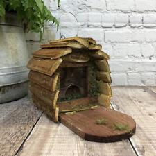 More details for wooden garden wildlife squirrel feeder