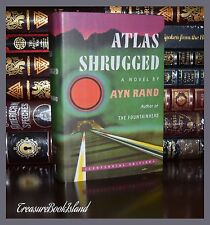 Atlas Shrugged by Ayn Rand Brand New Centennial Deluxe Hardcover 2 Day Ship
